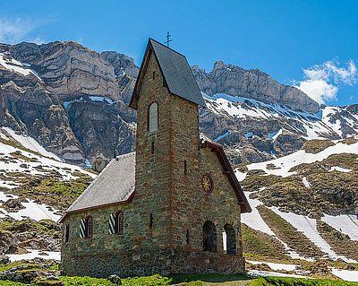 Meglisalp Kapelle