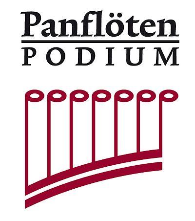 Logo Panflöten Podium